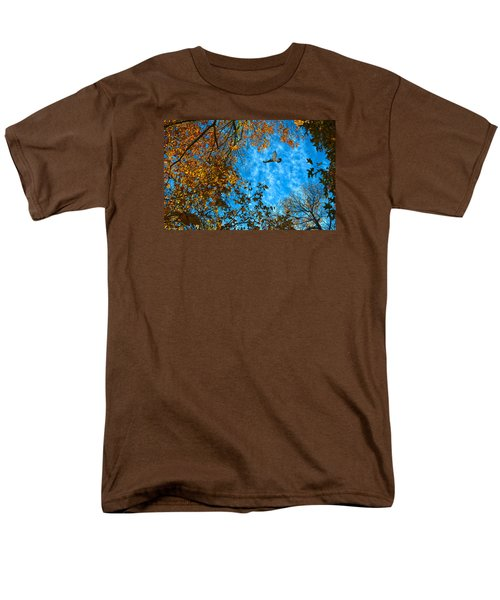 Red-tailed Hawk Men's T-Shirt  (Regular Fit) by Sandi OReilly