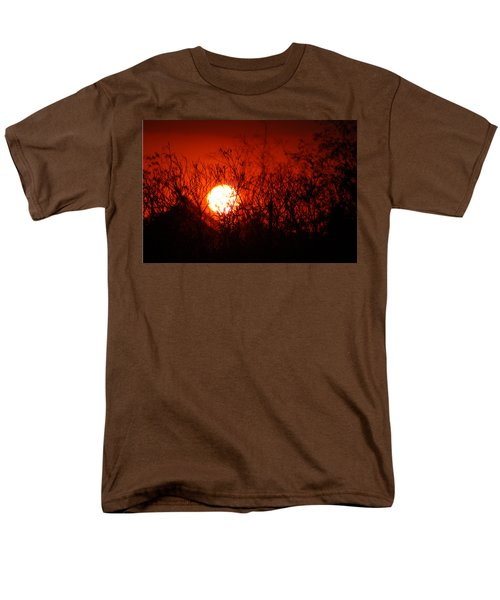 Redorange Sunset Men's T-Shirt  (Regular Fit) by Matt Harang