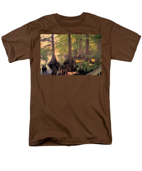 Reelfoot Lake At Sunset Men's T-Shirt  (Regular Fit) by Bonnie Willis