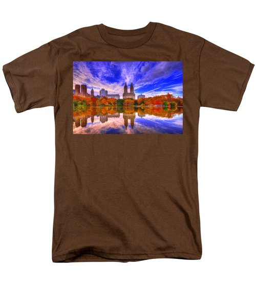 Reflection Of City Men's T-Shirt  (Regular Fit) by Midori Chan