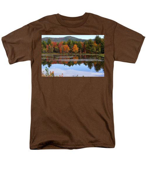 Reflections Of Fall Men's T-Shirt  (Regular Fit) by Kerri Mortenson