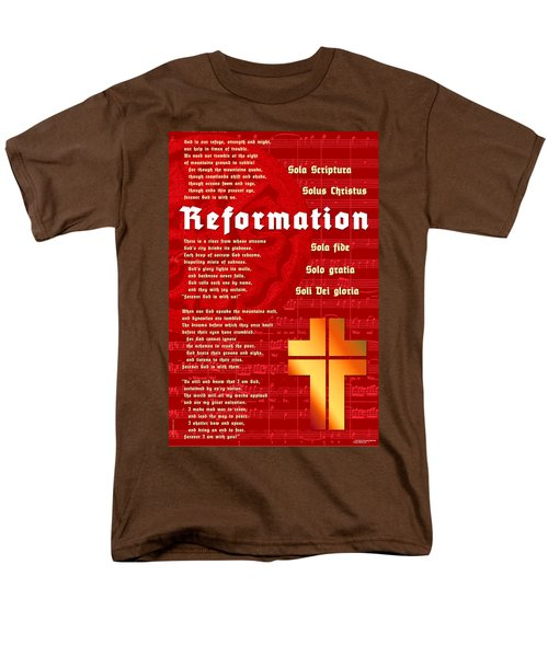 Reformation Men's T-Shirt  (Regular Fit) by Chuck Mountain
