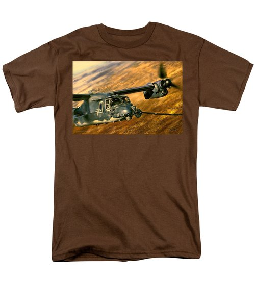 Refueling Men's T-Shirt  (Regular Fit) by Dave Luebbert