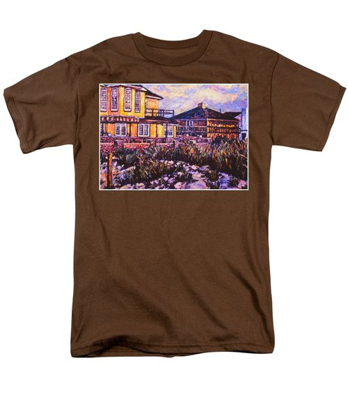 Rehoboth Beach Houses Men's T-Shirt  (Regular Fit) by Kendall Kessler