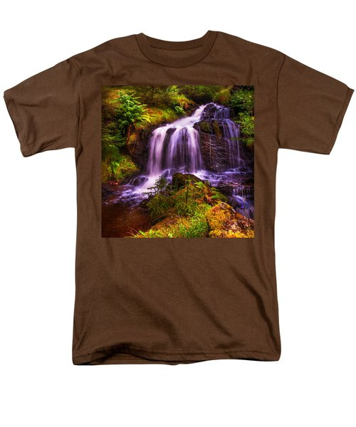 Retreat For Soul. Rest And Be Thankful. Scotland Men's T-Shirt  (Regular Fit) by Jenny Rainbow