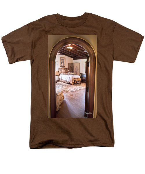 Retreat To The Past Men's T-Shirt  (Regular Fit) by Susan Molnar