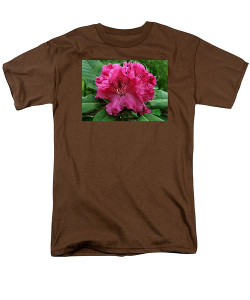 Men's T-Shirt  (Regular Fit) featuring the photograph Rhododendron ' Bessie Howells ' by William Tanneberger