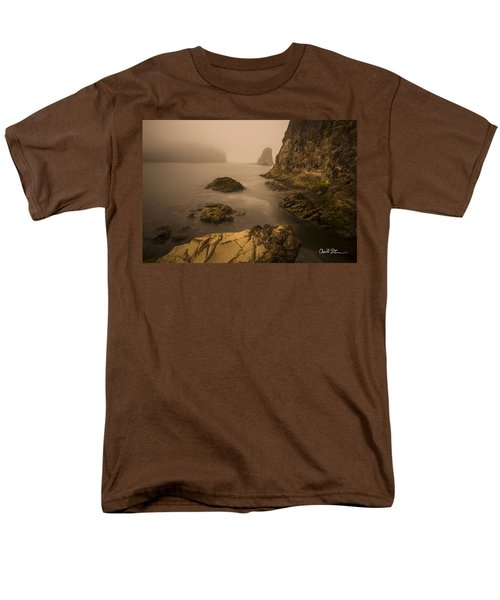 Rialto Beach Rocks Men's T-Shirt  (Regular Fit)