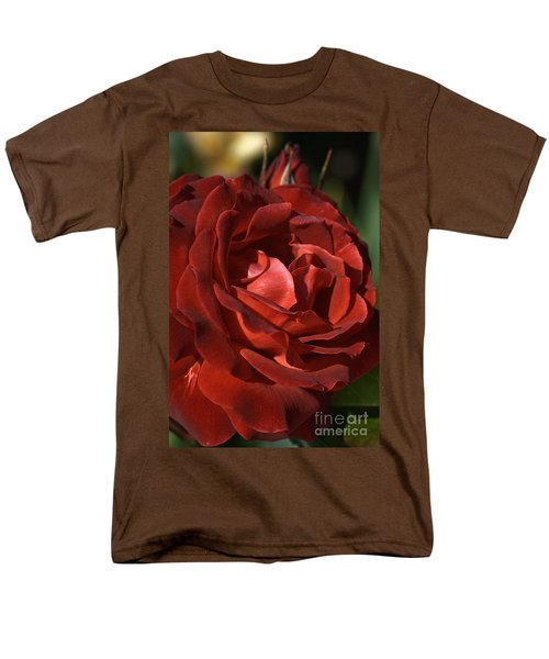Men's T-Shirt  (Regular Fit) featuring the photograph Rich Is Rose by Joy Watson