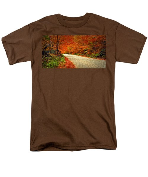 Road To Nowhere Men's T-Shirt  (Regular Fit) by Bill Howard
