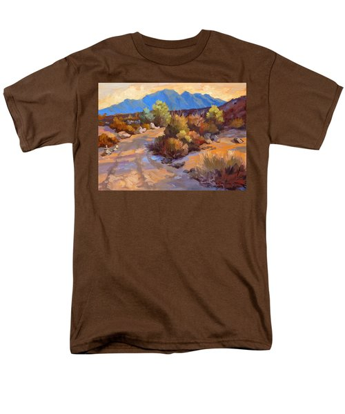 Rock Cairn At La Quinta Cove Men's T-Shirt  (Regular Fit) by Diane McClary