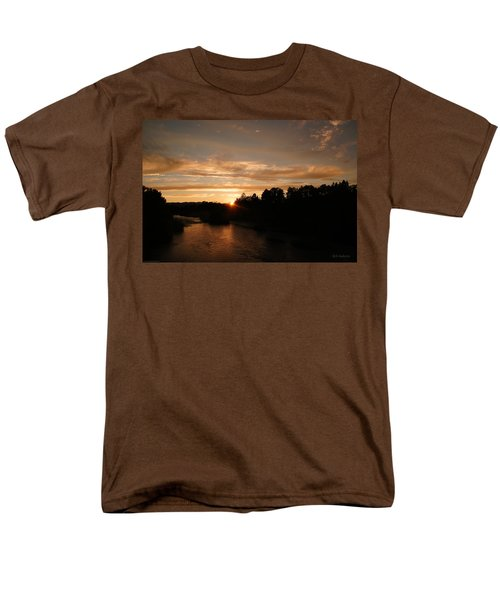 Rogue August Sunset Men's T-Shirt  (Regular Fit) by Mick Anderson