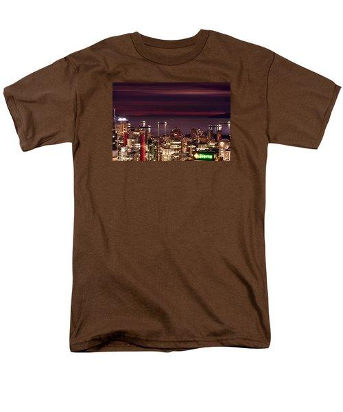 Men's T-Shirt  (Regular Fit) featuring the photograph Romantic English Bay Mdcci by Amyn Nasser