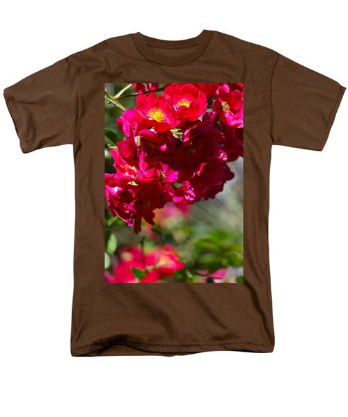 Rose Bouquet Men's T-Shirt  (Regular Fit) by Michele Myers