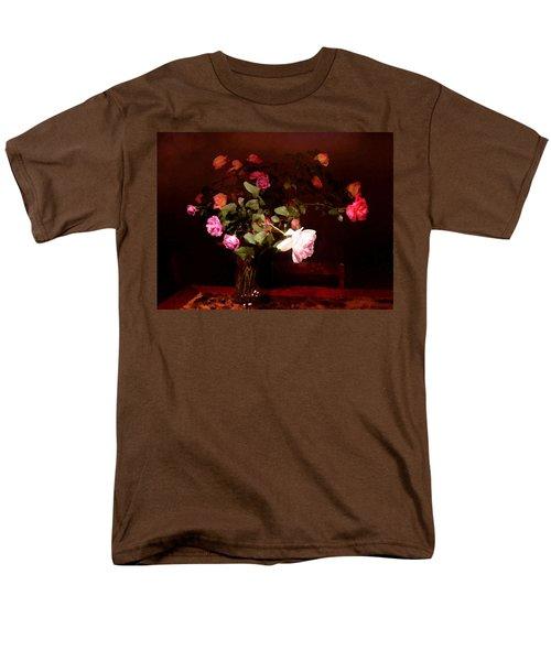 Rose Bouquet Men's T-Shirt  (Regular Fit) by Steve Karol