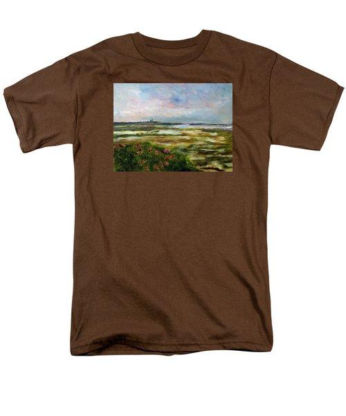 Roses Over The Marsh Men's T-Shirt  (Regular Fit)