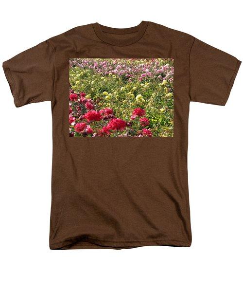 Roses Roses Roses Men's T-Shirt  (Regular Fit) by Laurel Powell