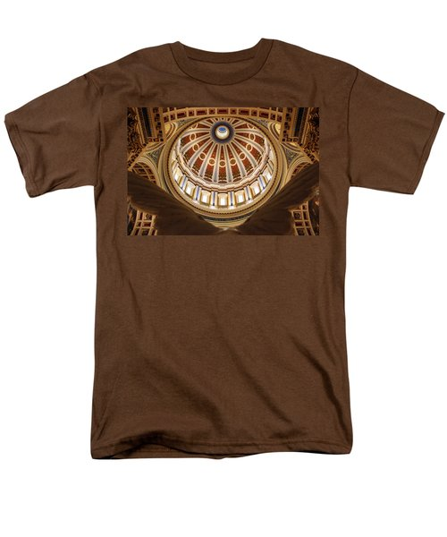 Rotunda Dome On Wings Men's T-Shirt  (Regular Fit) by Joseph Skompski