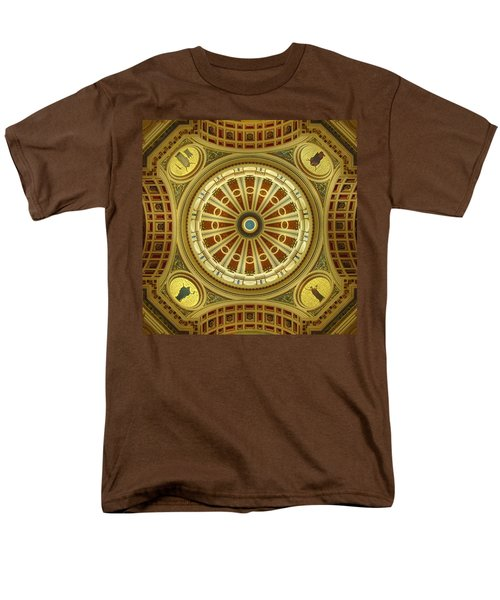 Men's T-Shirt  (Regular Fit) featuring the photograph Rotunda by Joseph Skompski