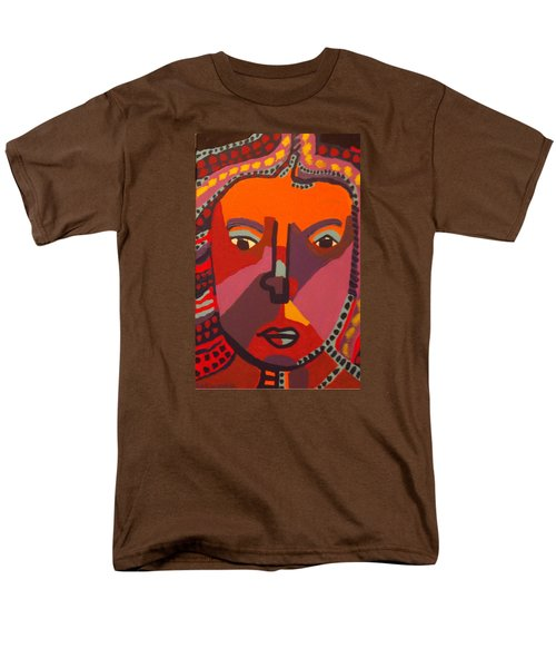 Men's T-Shirt  (Regular Fit) featuring the painting Royal Buddha by Don Koester