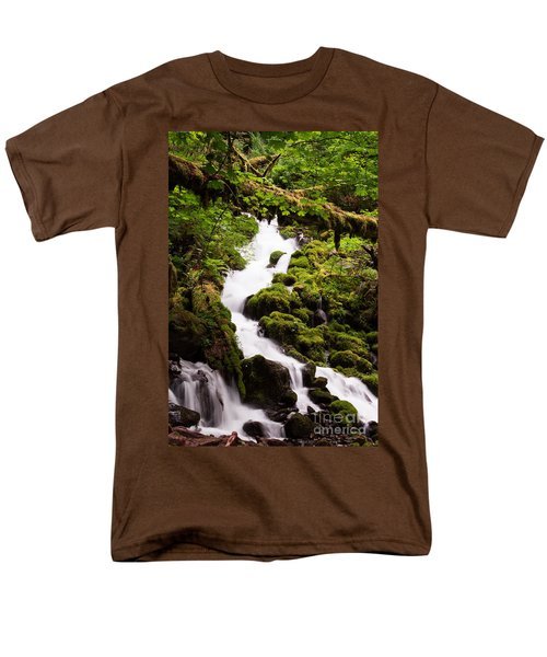 Men's T-Shirt  (Regular Fit) featuring the photograph Running Wild by Suzanne Luft