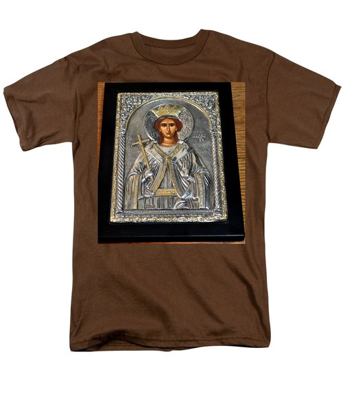 Russian Byzantin Icon Men's T-Shirt  (Regular Fit) by Jay Milo
