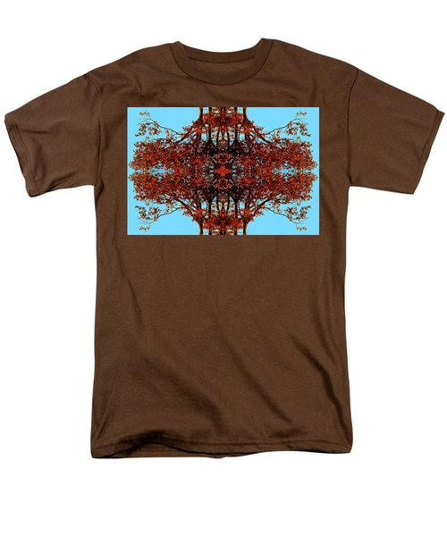 Men's T-Shirt  (Regular Fit) featuring the photograph Rust And Sky 3 - Abstract Art Photo by Marianne Dow