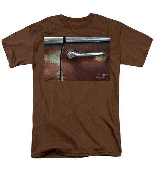 Men's T-Shirt  (Regular Fit) featuring the photograph Rusty Rat by Christiane Hellner-OBrien
