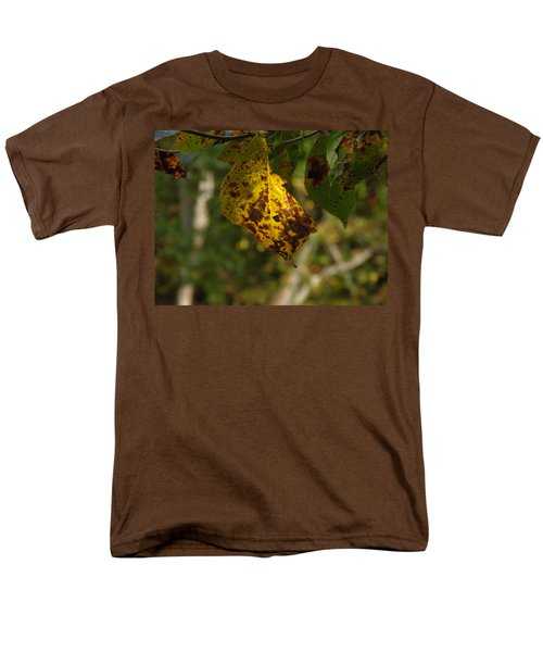 Men's T-Shirt  (Regular Fit) featuring the photograph Rusty Leaf by Nick Kirby
