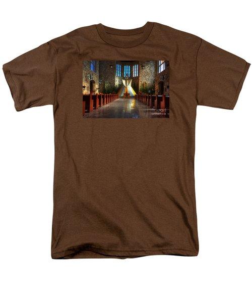 Saint Josephs Apache Mission Men's T-Shirt  (Regular Fit) by Bob Christopher