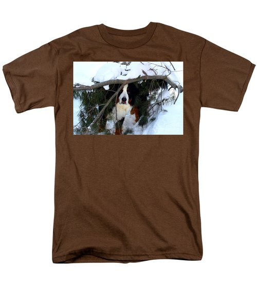 Sam And His Fort Men's T-Shirt  (Regular Fit) by Patti Whitten