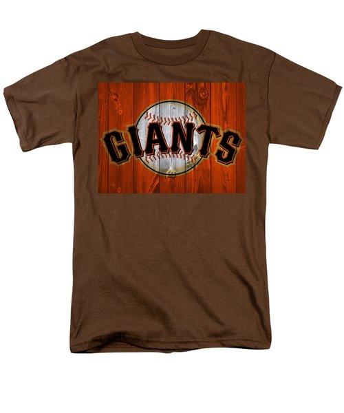 San Francisco Giants Barn Door Men's T-Shirt  (Regular Fit) by Dan Sproul