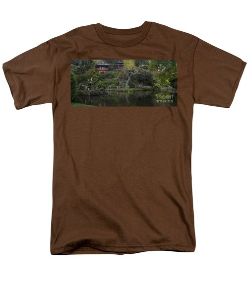 San Francisco Japanese Garden Men's T-Shirt  (Regular Fit) by Mike Reid