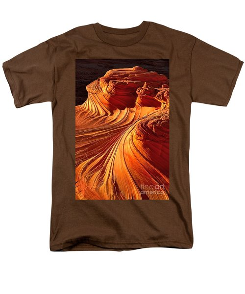 Sandstone Silhouette Men's T-Shirt  (Regular Fit) by Adam Jewell
