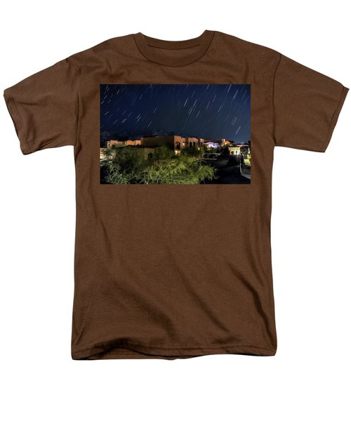 Men's T-Shirt  (Regular Fit) featuring the photograph Santa Catalina Mountain Startrails by Dan McManus