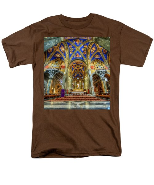 Santa Maria Sopra Minerva 2.0 Men's T-Shirt  (Regular Fit) by Yhun Suarez