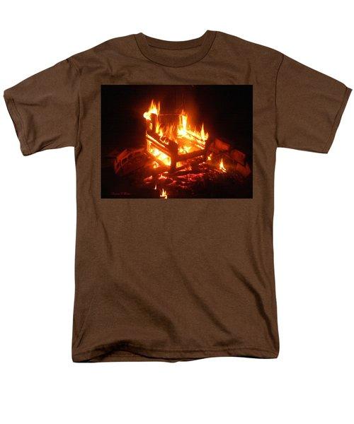 Men's T-Shirt  (Regular Fit) featuring the photograph Satan's Arm Chair by Shana Rowe Jackson