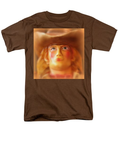 Scary Cowgirl Men's T-Shirt  (Regular Fit) by Lynn Sprowl
