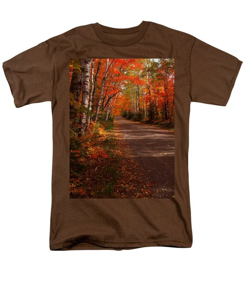 Scenic Maple Drive Men's T-Shirt  (Regular Fit) by James Peterson