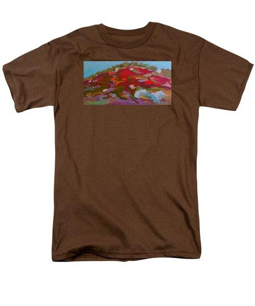 Schoodic Trail Blueberry Hill Men's T-Shirt  (Regular Fit) by Francine Frank