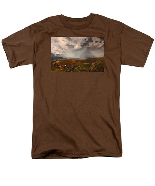Scottish Loch Men's T-Shirt  (Regular Fit) by Jean Walker