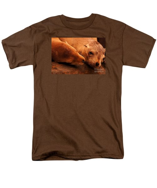Men's T-Shirt  (Regular Fit) featuring the photograph La Jolla Love by John F Tsumas