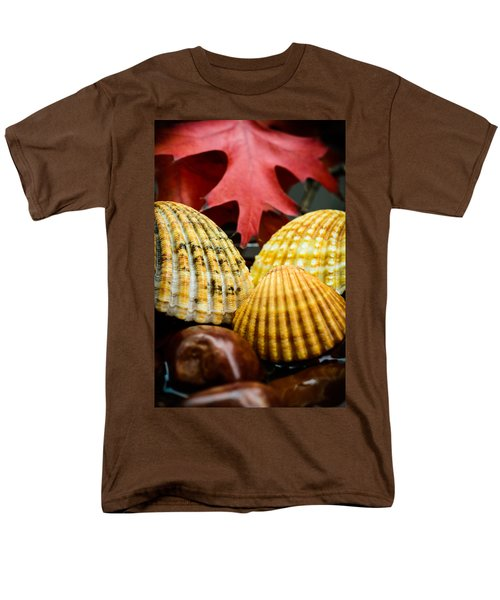 Seashells II Men's T-Shirt  (Regular Fit) by Marco Oliveira