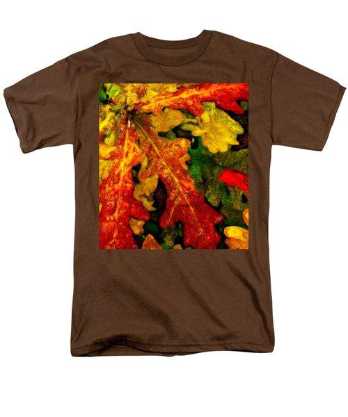 Men's T-Shirt  (Regular Fit) featuring the digital art Season's End by Chuck Mountain
