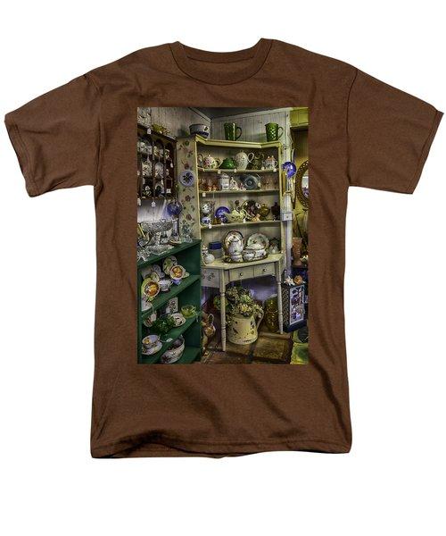 Second Hand Rose Men's T-Shirt  (Regular Fit) by Lynn Palmer