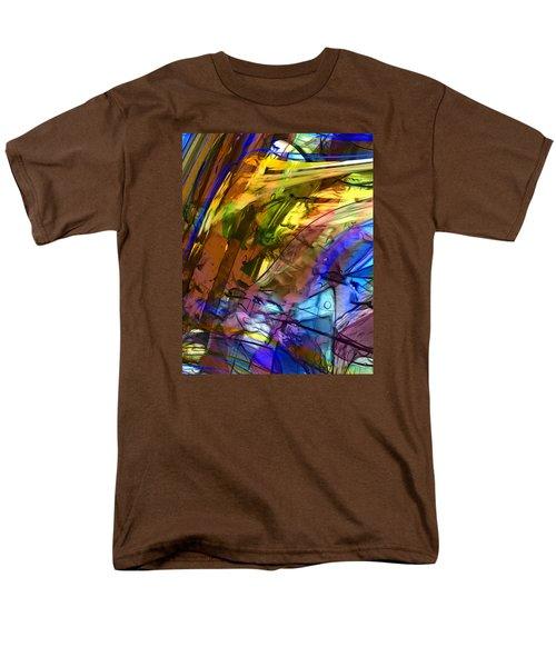 Men's T-Shirt  (Regular Fit) featuring the painting Secret Animal by Richard Thomas