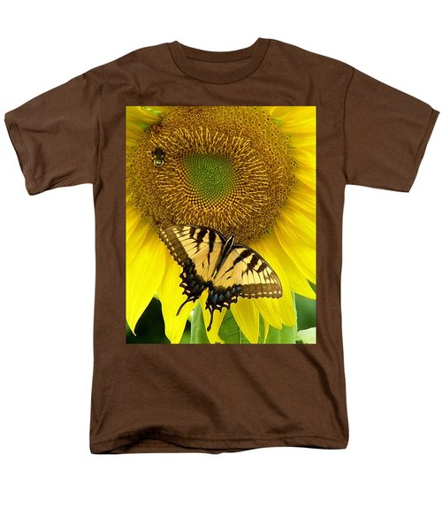 Secret Lives Of Sunflowers Men's T-Shirt  (Regular Fit)