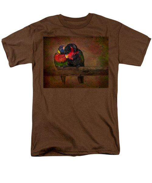 Secrets Men's T-Shirt  (Regular Fit) by Susan Candelario