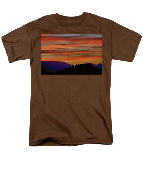 Sedona Az Sunset 2 Men's T-Shirt  (Regular Fit) by Ron White