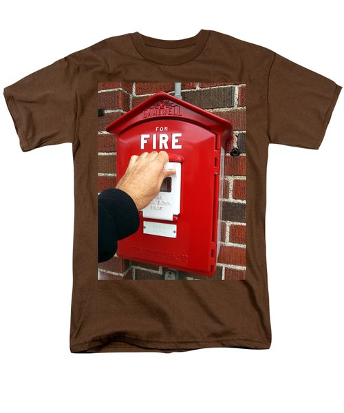 Self Control Is A Good Thing. Men's T-Shirt  (Regular Fit) by Lon Casler Bixby